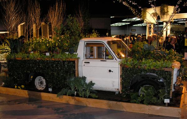 Beater Truck Turned Garden